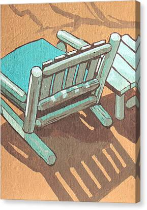 Sit Back And Relax Canvas Print by Sandy Tracey