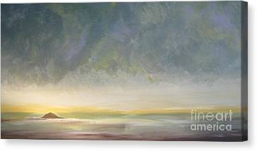 Skaket - Waiting On The Storm Canvas Print by Jacqui Hawk