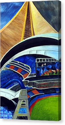 Skydome Canvas Print by Chris Ripley