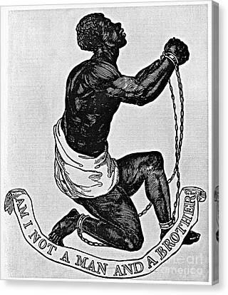Slavery: Abolition, 1835 Canvas Print by Granger