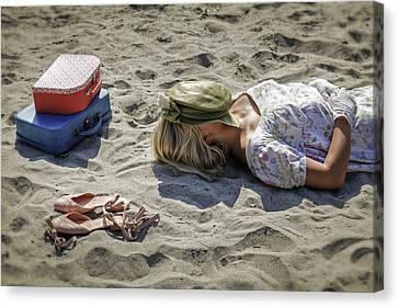 Sleeping Beauty Canvas Print by Joana Kruse