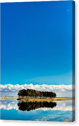 Small Island Canvas Print by Tokism