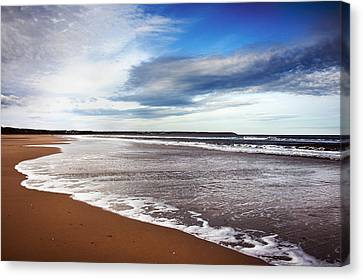 Smooth Wave Canvas Print by Svetlana Sewell