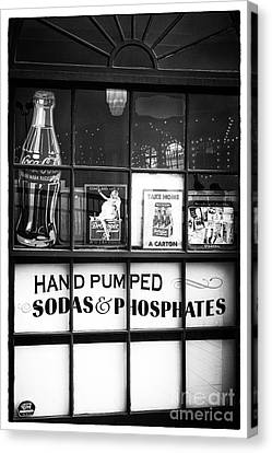 Soda And Phosphates Canvas Print by John Rizzuto