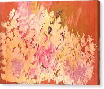 Soft Echoes Canvas Print by Anne-Elizabeth Whiteway