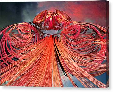 Solar Flare Canvas Print by Michael Durst