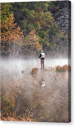 Solitude Canvas Print by Cindy Rubin