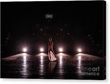 Solo Dance Performance Canvas Print by Scott Sawyer