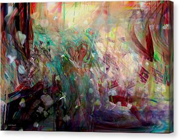 Something Beautiful Canvas Print by Linda Sannuti