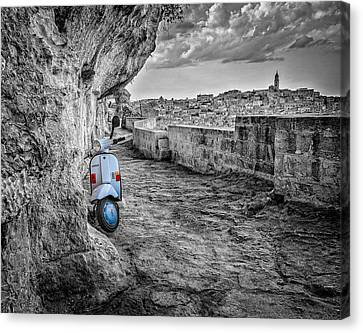 Something Old Something New Canvas Print by Michael Avory