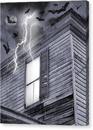 Something Wicked Canvas Print by Brian Wallace