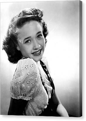 Song Of The Open Road, Jane Powell, 1944 Canvas Print by Everett