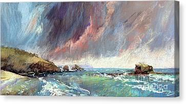 Sorrento Storm Canvas Print by Pamela Pretty