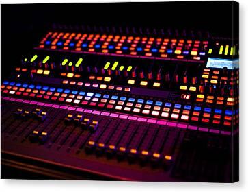 Soundboard Canvas Print by Anthony Citro
