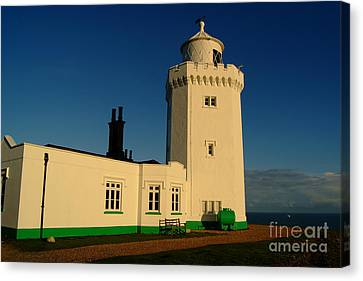 South Foreland Lighthouse Canvas Print by Serena Bowles