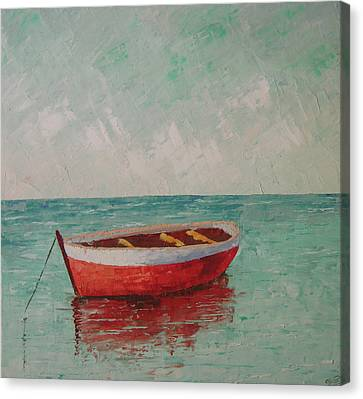 South Of France Saint Tropez Canvas Print by Frederic Payet