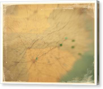 Southeast Us Canvas Print by Paulette B Wright