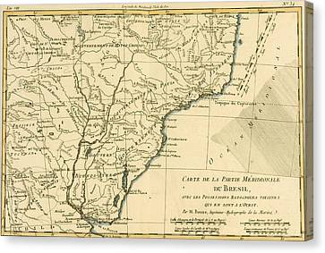 Southern Brazil Canvas Print by Guillaume Raynal