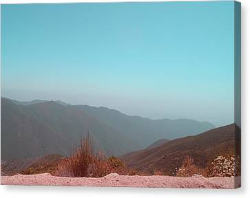 Southern California Mountains 2 Canvas Print by Naxart Studio