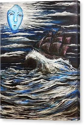 Southern Wind  Canvas Print by Katchakul Kaewkate