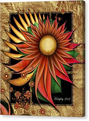 Southwest Sunrise Canvas Print by Karla White