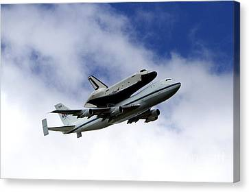 Space Shuttle Enterprise Canvas Print by Thanh Tran