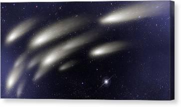 Space011 Canvas Print by Svetlana Sewell