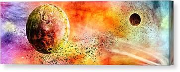 Space013 Canvas Print by Svetlana Sewell