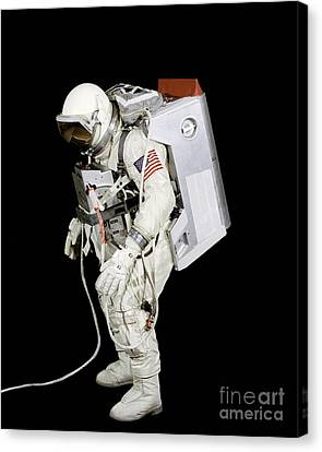 Spacesuit Used By Gemini Viii Canvas Print by Stocktrek Images