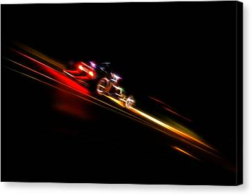 Speeding Hot Rod Canvas Print by Phil 'motography' Clark