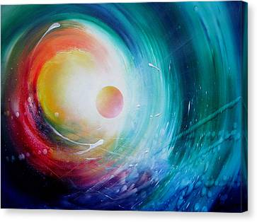 Sphere F31 Canvas Print by Drazen Pavlovic