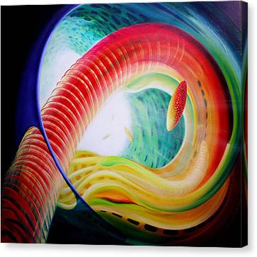 Sphere Serpula 2 Canvas Print by Drazen Pavlovic