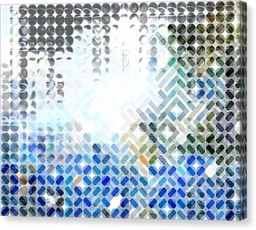 Spheremaze Canvas Print by Mark Einhorn