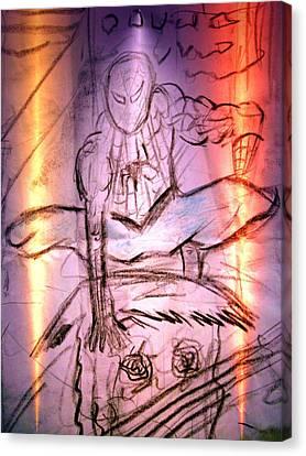 Spider 2 Canvas Print by Beto Machado