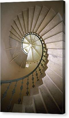 Spiral Stairs - Krakow Canvas Print by Martin Cameron