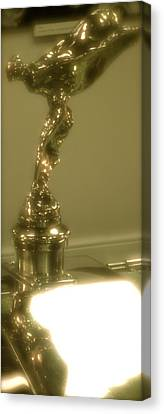 Spirit Of Ecstasy Canvas Print by John Colley
