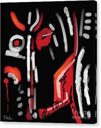 Spirit Of The Night Canvas Print by Barbara Drake