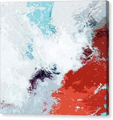 Splash Canvas Print by Glennis Siverson
