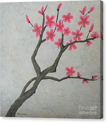 Spring Blossoms Canvas Print by Billinda Brandli DeVillez