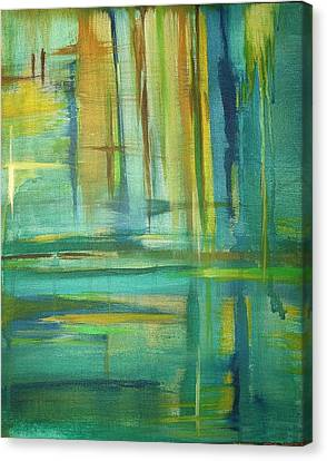 Spring Canvas Print by Derya  Aktas