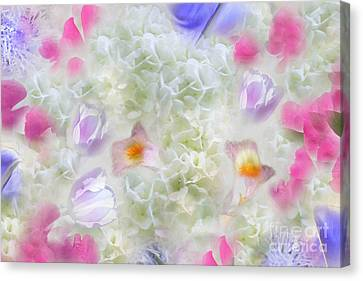 Spring Is In The Air Canvas Print by Cindy Lee Longhini
