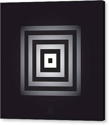 Square Pulse V15.1 Canvas Print by Guardians of the Future