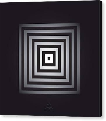Square Pulse V15.2 Canvas Print by Guardians of the Future
