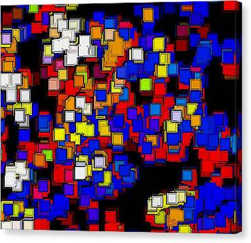 Squares Selection Number 2 Canvas Print by Rod Saavedra-Ferrere