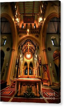 St Barnabas Cathedral Canvas Print by Yhun Suarez