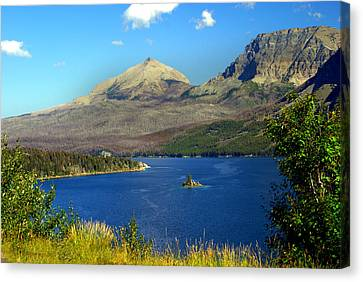 St. Mary's Lake 1 Canvas Print by Marty Koch