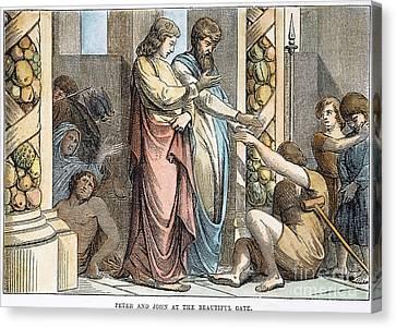 St Peter & St John Canvas Print by Granger