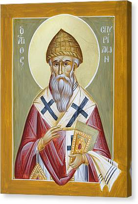 St Spyridon Canvas Print by Julia Bridget Hayes