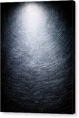 Stainless Steel Background. Canvas Print by Ballyscanlon