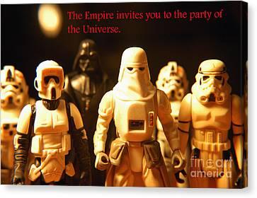 Star Wars Gang 2 Canvas Print by Micah May